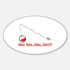 Here fishy Decal