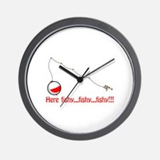 Here fishy Wall Clock