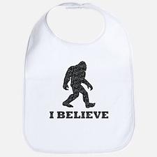 Believe Bigfoot (Distressed) Bib