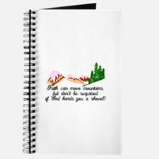 Faith moves mountains Journal