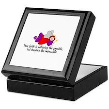 Believe the possible Keepsake Box