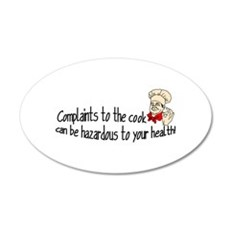 Complaints Wall Decal