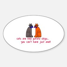 Cats Potato Chips Decal