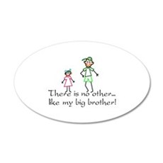 No Other Big Brother Wall Decal