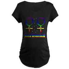 Just Married Lesbians T-Shirt