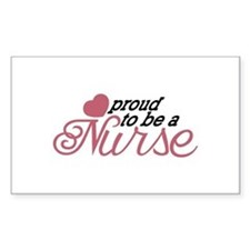 Proud Nurse Decal