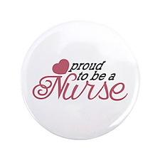 Proud Nurse Button