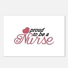 Proud Nurse Postcards (Package of 8)