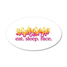 Race (Flames) Wall Decal
