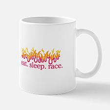 Race (Flames) Mugs