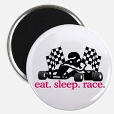 Race (Go Kart) Magnets