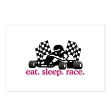 Race (Go Kart) Postcards (Package of 8)
