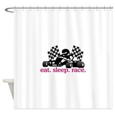 Race (Go Kart) Shower Curtain