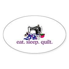 Quilt (Machine) Bumper Stickers