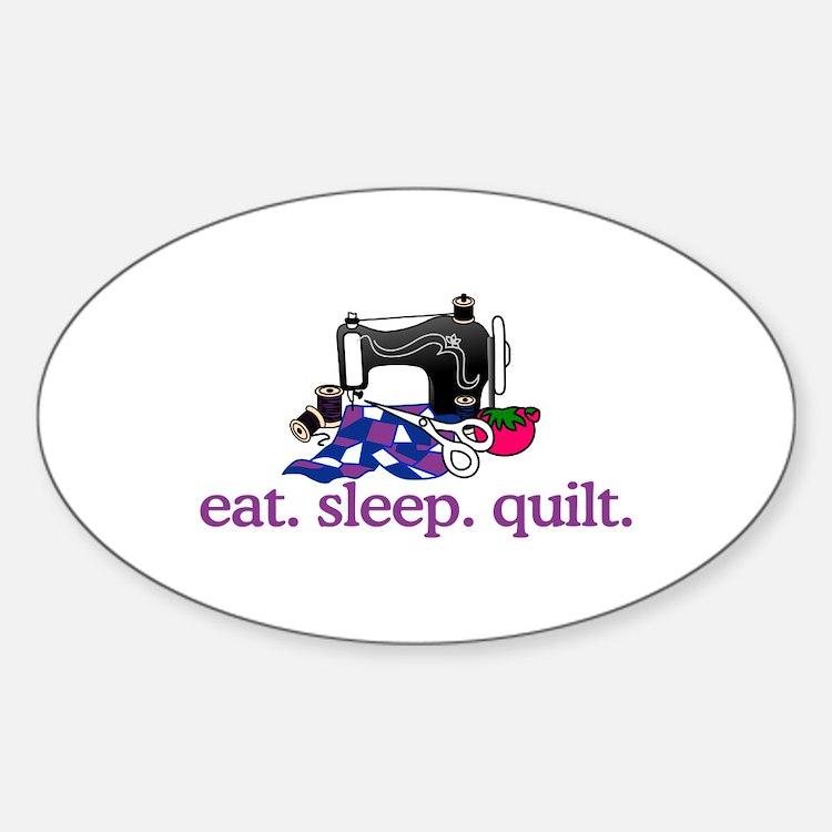 Quilt (Machine) Decal