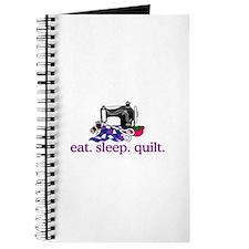 Quilt (Machine) Journal