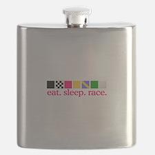 Race (Flags) Flask