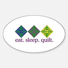 Quilt (Squares) Stickers