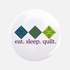 Quilt (Squares) Button