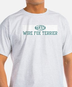 Team Wire Fox Terrier T-Shirt