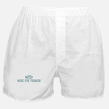 Team Wire Fox Terrier Boxer Shorts