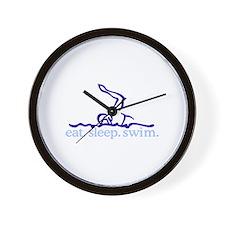 Swim (Swimmer #2) Wall Clock