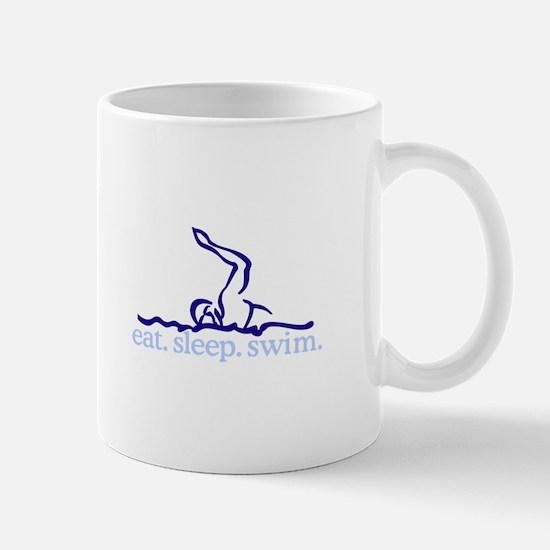 Swim (Swimmer #2) Mugs