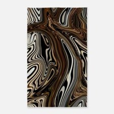 Zebra Zone Home Decor Area Rug