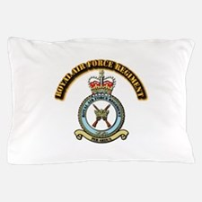 Royal Air Force Regt w Text Pillow Case