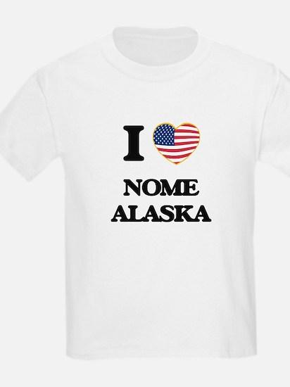 I love Nome Alaska T-Shirt