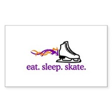 Skate (Flaming Skate) Decal