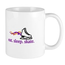 Skate (Flaming Skate) Mugs