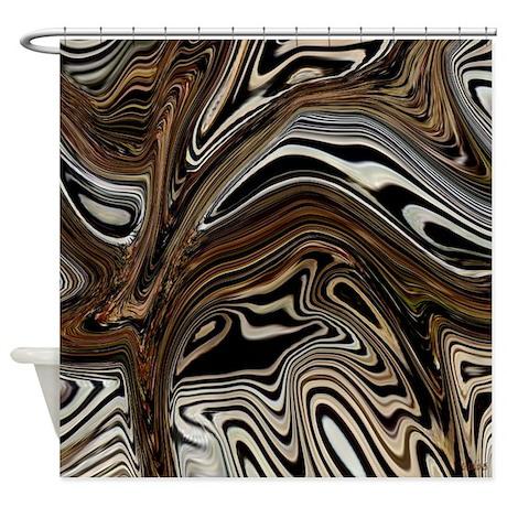 zebra zone home decor shower curtain by cheylines