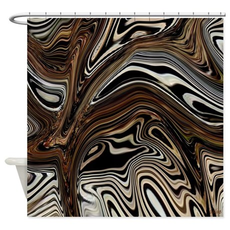 Zebra zone home decor shower curtain by cheylines for Zebra home decor