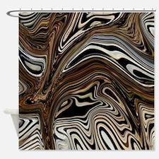 Zebra Zone Home Decor Shower Curtain