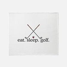 Golf (Clubs) Throw Blanket