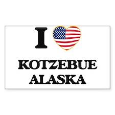 I love Kotzebue Alaska Decal