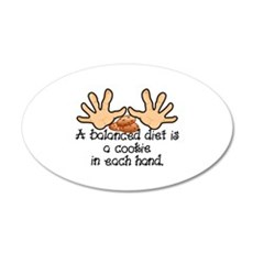 Balanced Diet Wall Decal