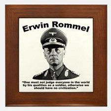 Rommel: Soldiers Framed Tile