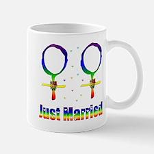 Just Married Lesbians Mug