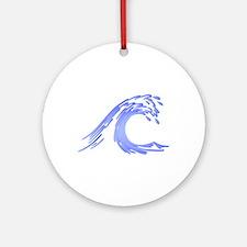 Wave Ornament (Round)