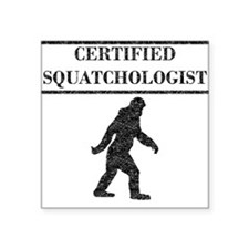 Certified Squatchologist (Distressed) Sticker