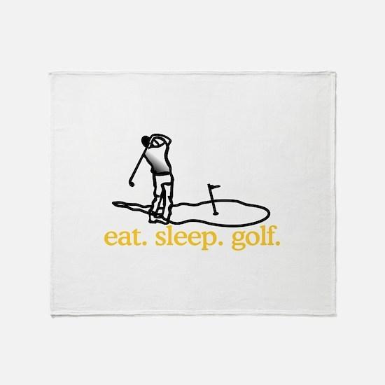 Golf (Scene) Throw Blanket