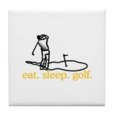 Golf (Scene) Tile Coaster