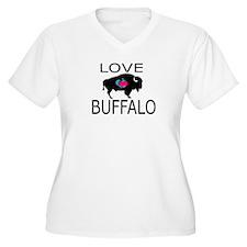 Love Buffalo Plus Size T-Shirt