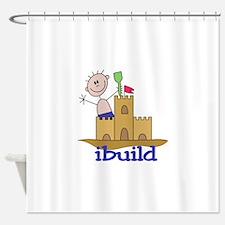 I Build Shower Curtain
