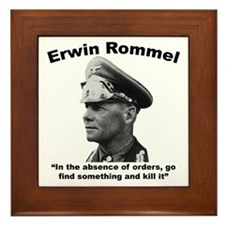 Rommel: Kill It Framed Tile