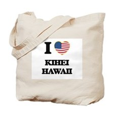 I love Kihei Hawaii Tote Bag