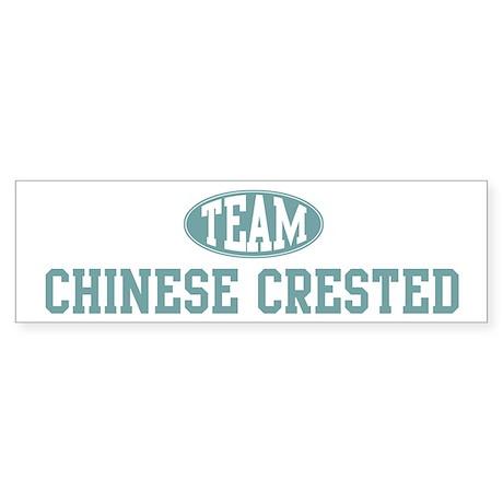 Team Chinese Crested Bumper Sticker