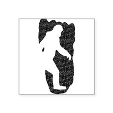 Bigfoot Footprint (Distressed) Sticker